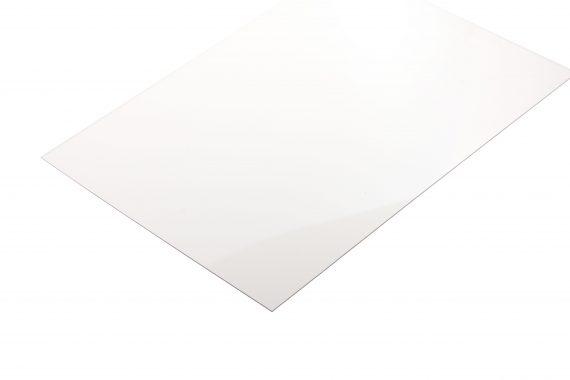Polyester transparant kleurloos 0.8 mm