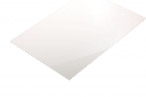 Acrylaat transparant kleurloos 1 mm
