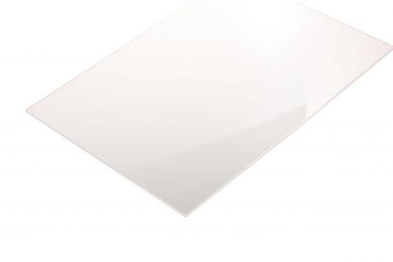 Acrylaat transparant kleurloos 2 mm