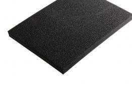 PE schuim zwart 20 mm