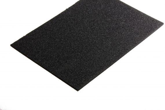 PE schuim zwart 5 mm