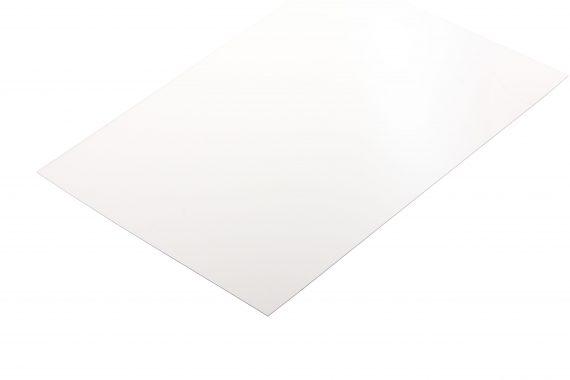 Polyester transparant kleurloos 0.5 mm