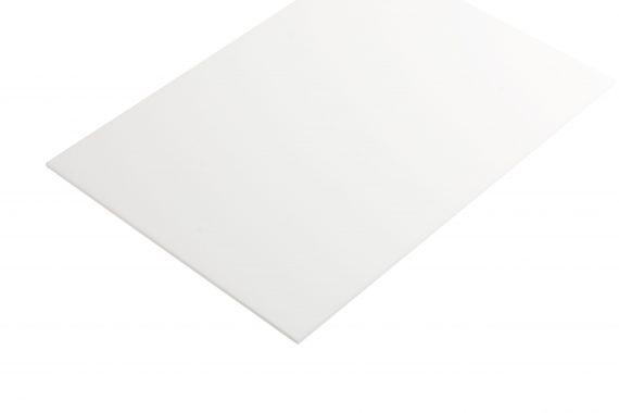 Acrylaat mat wit 3 mm