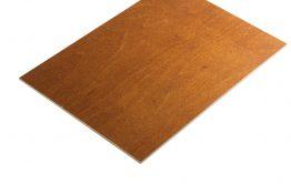 Multiplex berken bruin gebeitst 3 mm