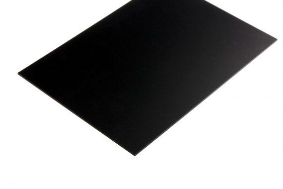 Acrylaat mat zwart 3 mm