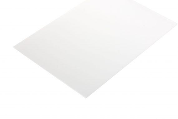Acrylaat translucent mat kleurloos 3 mm